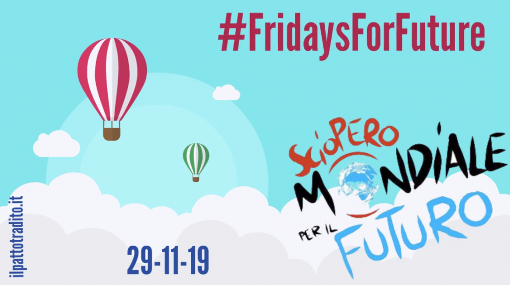 #FridaysForFuture nuovo sciopero planetario
