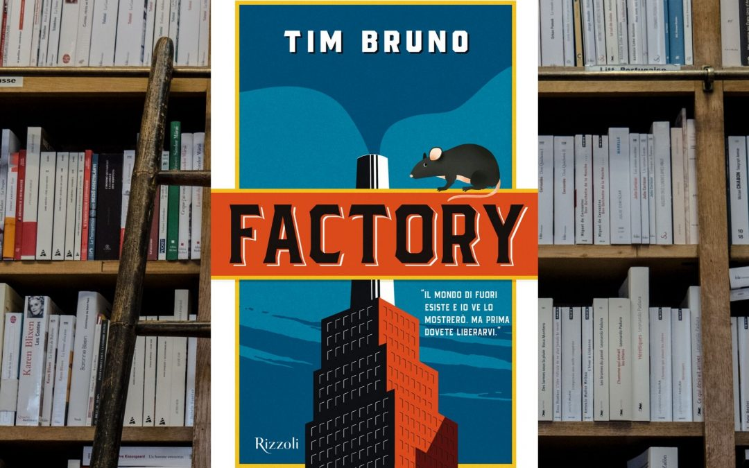 Factory è la storia di un vecchio ratto che riesce a far esplodere una fabbrica di proteine animali